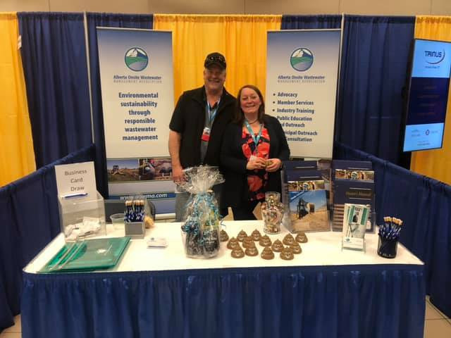 Trade Show Booth Edmonton : Aowma represents industry at the rural municipalities association