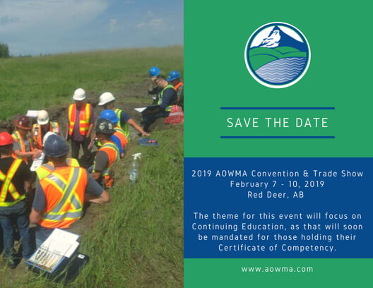 21st Annual AOWMA Convention & Trade Show @ Red Deer, AB